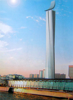 rotating tower