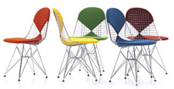 Wire Chair designed by Charles Eames