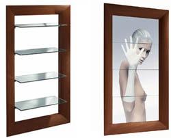 Philippe starck firma frame la libreria specchio - Specchio philippe starck ...