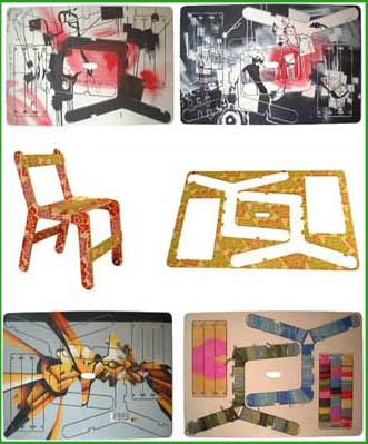 personalizzazione del colore della sedia