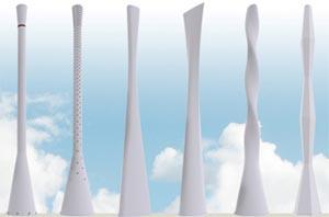 Ericsson: Tower Tube, antenne di architettura contemporanea.