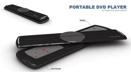 lettore DVD portatile con nuova tecnologia OLED, nuovi materiali Sony