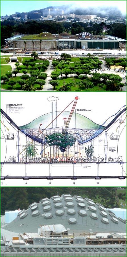 Renzo Piano, progetto architettura Accademia Scienze California