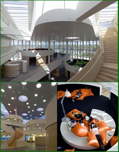 3NX: studio architettura, realizzazione scuola Copehagen. Architettura contemporanea
