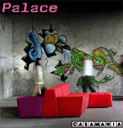 Nuovo divano modulare Palace prodotto da Casamania