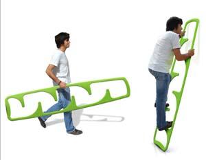 Cima ladder, la nuova scala. Design e tecnologia