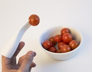 eat with your finger: finger food e food-design