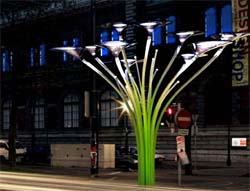 Ross Lovegrove: design sostenibile per l'arredo urbano Solar Tree