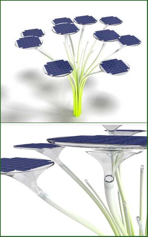 Ross Lovegrove e Solar Trees: arredo urbano sostenibile