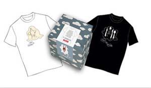 Alessi, t-shirt t-dream designer famosi