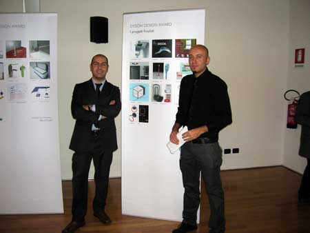 I vincitori: Nicola Esposito e Mauro di Martino