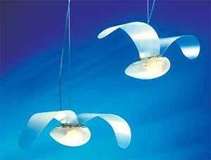 Isao Hosoe: design comportamentele, lampada vola