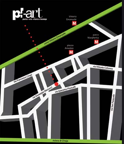 Plart, museo Plastiche Napoli. Come arrivare