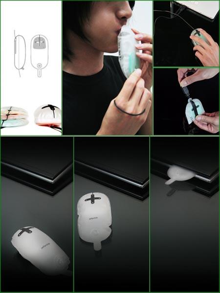 Jelly Click, il mouse gonfiabile