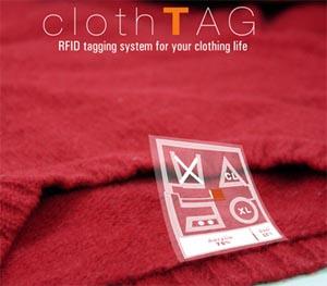 etichette RFID, smarter clothTag