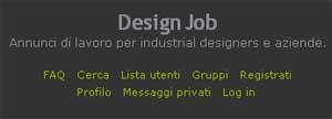 Design Job, Forum designer e Aziende