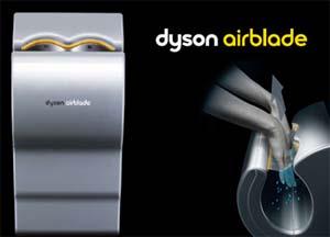 Dyson Airblade , asciugamani ad aria