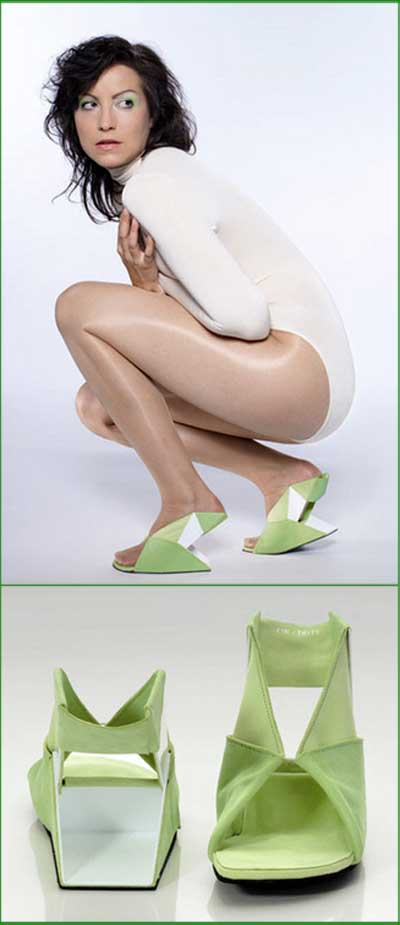 Scarpe Origami, Catherine Meuter