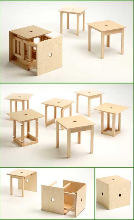 Salone Satellite: Naho Matsumo Cube3 e Cube6