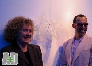 Annie Cattrell e Karim Rashid: Bombay Sapphire Prize