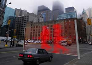 Virtual Wall, il semaforo di Hanyoung Lee