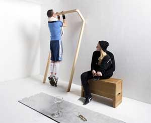 La palestra a casa tua. Postfossil crea i mobili per ritrovare la ...