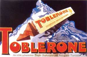 Toblerone: storia, packaging e marchio