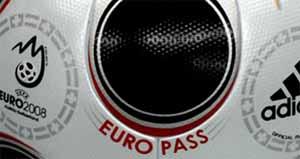 europei 2008, pallone design