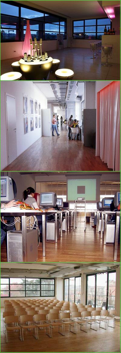 Scuola Politecnica Design, aule