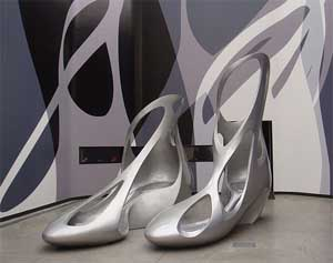 Zaha Hadid scarpe