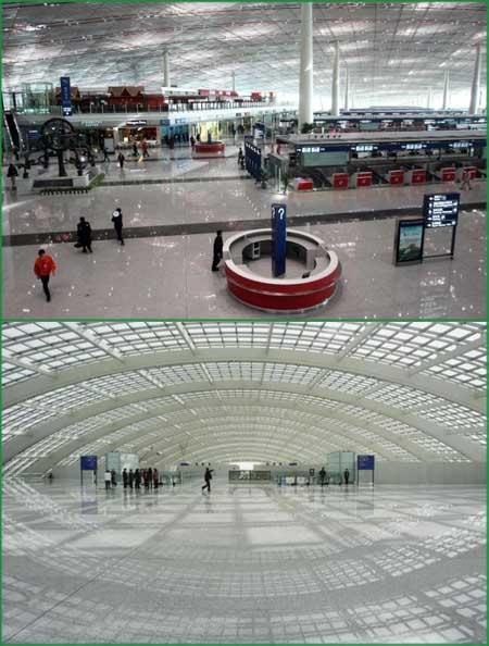 Aeroporto pechino beijing olimpiadi 2008