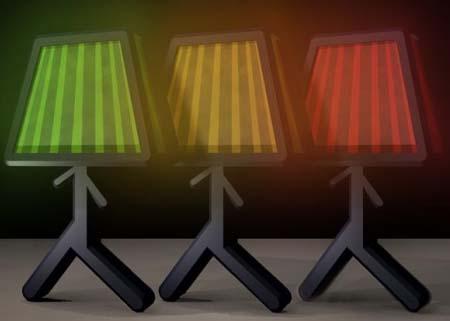 Spark Lamp,lampada sostenibile