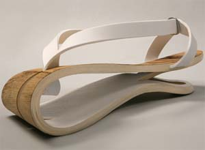 Wooden Sandal Yarel Yair