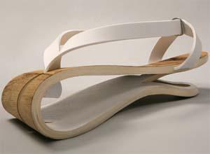 Wooden Sandal Yarel Yair