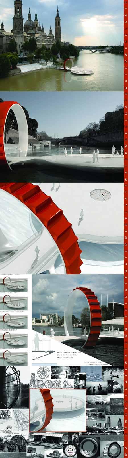 Waterwheelgate, progetto vincitore Mini Design Award 2008