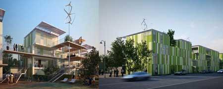 Casa 100K architettura sostenibile