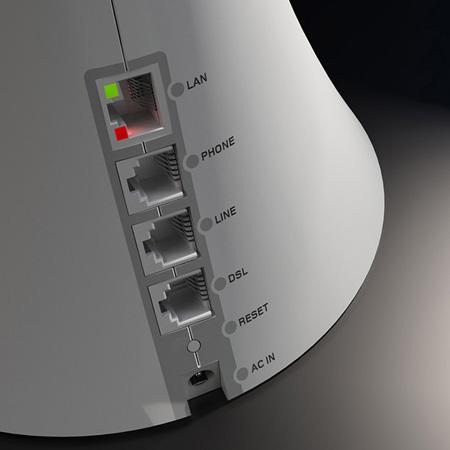 Vaso Router wi-fi