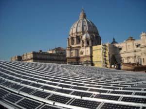 Pannelli solari Vaticano