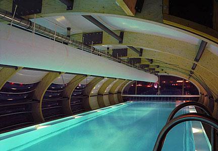 Badenschiff piscina Berlino