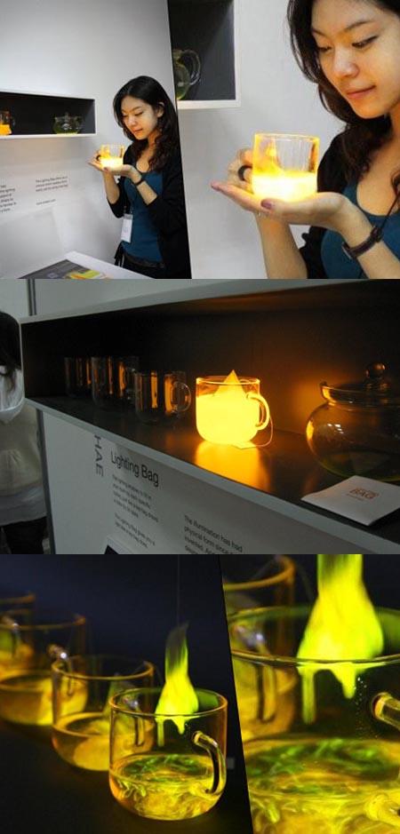 Lighting Bag, bustina luce