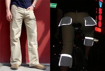 Pantalone catarifrangente