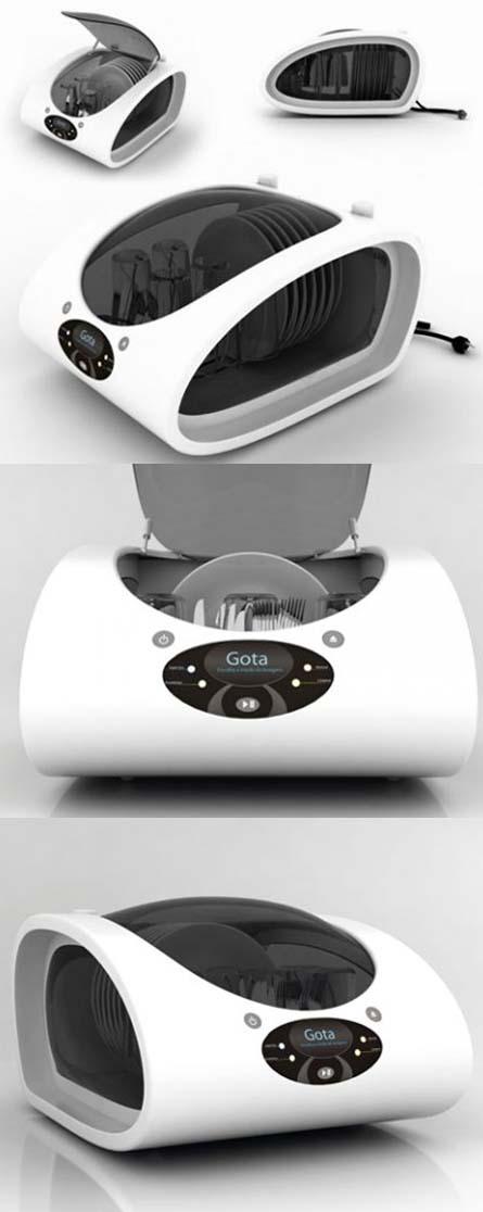 Gota dishwasher design