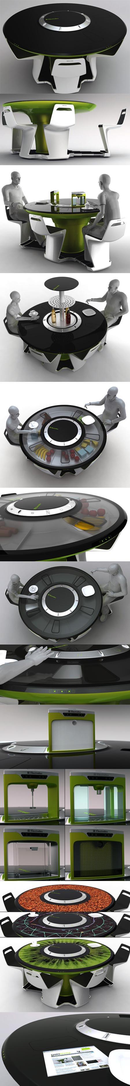 Electrolux Tavolo-cucina tecnologico