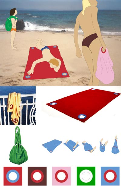 Towel-bag moda mare