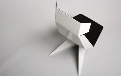 From Us with Love, origami Chair