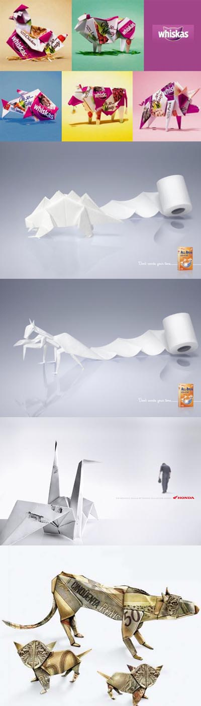 Origami Advertise