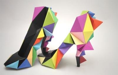 Scarpe Origami