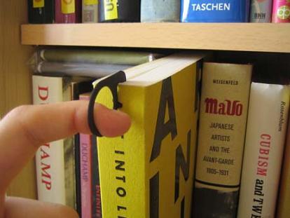 Gancio per libri
