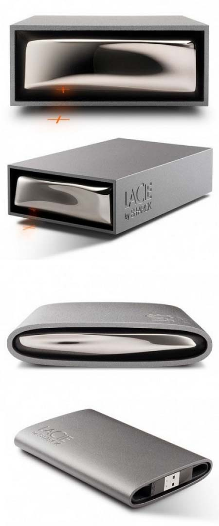 Hard disk firmati Philippe Starck