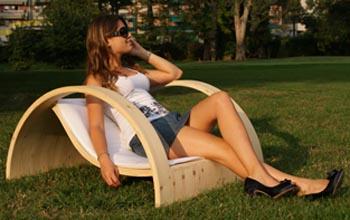 Davide Conti design sedia SARA